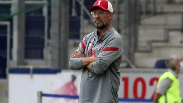 In Grödig: Liverpool-Startrainer Jürgen Klopp. (Bild: Tröster Andreas)