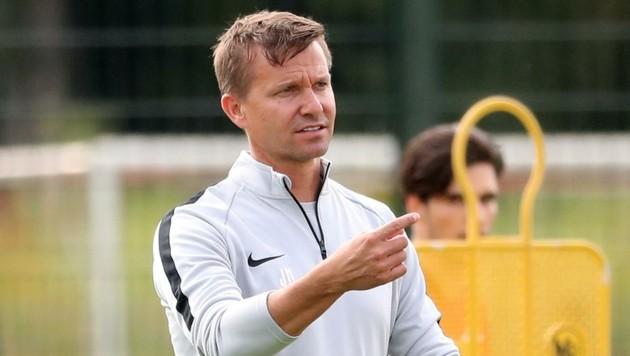 In Grödig: Neo-Leipzig-Chefcoach Jesse Marsch. (Bild: Red Bull/Gepa)