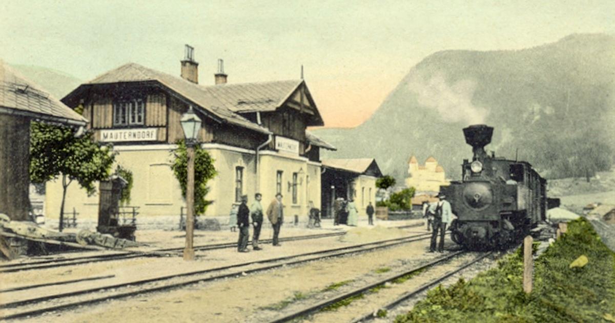 Murtalbahn Historisch: Ein Stück Nostalgie aus der Kaiserzeit