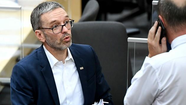 FPÖ-Obmann Herbert Kickl (Bild: APA/Robert Jäger)