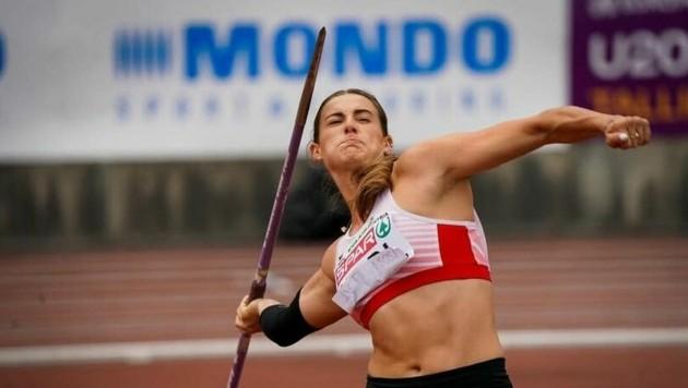 Patricia Madl wurde bei der U23-EM starke Sechste. (Bild: ÖLV/Coen Schilderman)