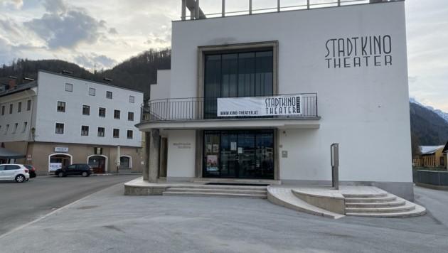 Standort Hallein: Das Stadtkino Theater öffnete am 19. Mai. (Bild: Stadt Hallein)
