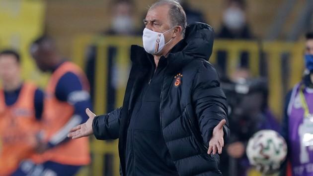 Galatasaray-Trainer Fatih Terim (Bild: APA/AFP/POOL/Kenan Asyali)