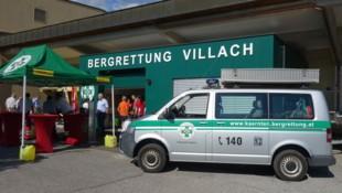 Die neue Einsatzzentrale der Bergrettung Villach befindet sich am Areal der Hauptfeuerwache Villach (Bild: Bergrettung Villach)
