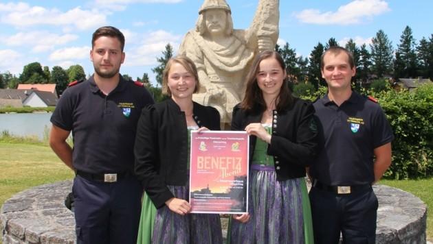 Feuerwehr und Trachtenkapelle wollen helfen. (Bild: Gernot Ruth)
