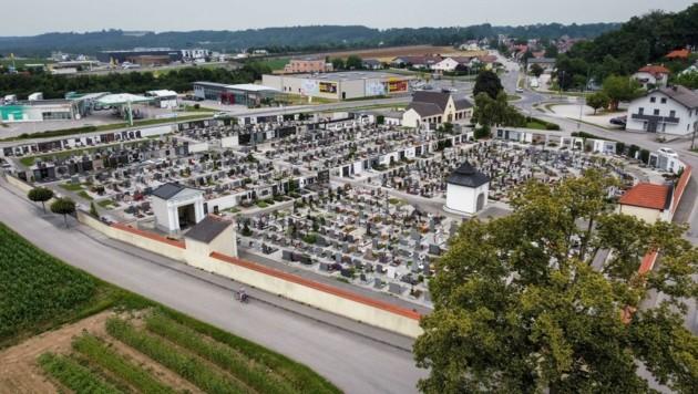 Keine Ruhe rund um den Vorchdorfer Friedhof (Bild: Wenzel Markus)
