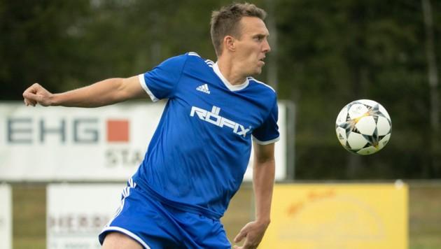 Hilft, wenn er gebraucht wird: Christoph Stückler kommt für SC Röthis aus seinem Fußball-Ruhestand zurück. (Bild: Maurice Shourot)