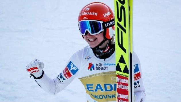 Sara Marita Kramer (Bild: EPA/Yuri Kochetkov)