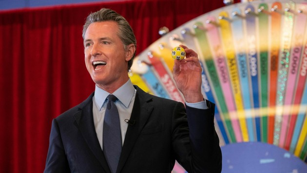 Kaliforniens Gouverneur setzt auf eine Lotterie als Impfanreiz. (Bild: The Sacramento Bee / Paul Kitagaki Jr. @2021)