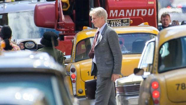 Harrison Fords Stuntdouble bei den Dreharbeiten in Glasgow (Bild: Wattie Cheung / Camera Press / picturedesk.com)