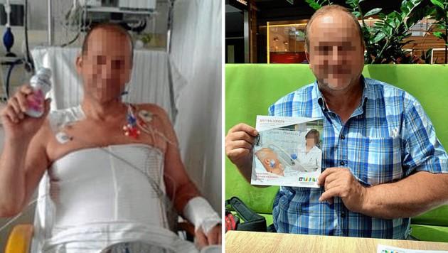Harald verlor fast sein Leben - aber nie die Freude daran: Er kämpft weiter um sein Recht. (Bild: zVg, Kerstin Wassermann)