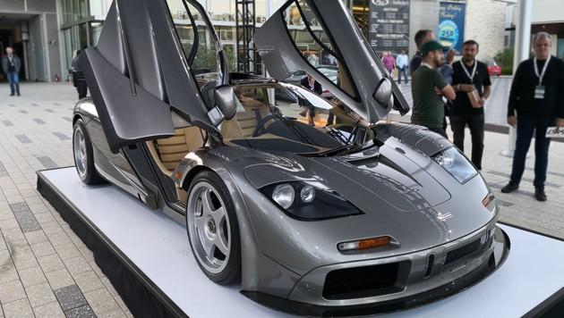 Das Gesicht des McLaren F1 hat ideale Proportionen. (Bild: Frank Wilke/Classic Analytics)