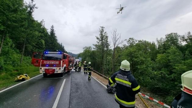 (Bild: Feuerwehr Bad Eisenkappel)