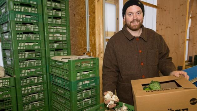 Gemüsekisten vom Bauern, wie vom Vetterhof (Bild), erfreuen sich großer Beliebtheit. (Bild: Mathis Fotografie)