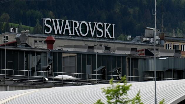 Die Swarovski-Zentrale in Wattens (Bild: APA/BARBARA GINDL)