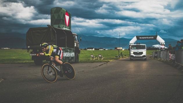 Strasser spult die Kilometer ab wie eine Maschine (Bild: Manuel Hausdorfer/limeART Photography)