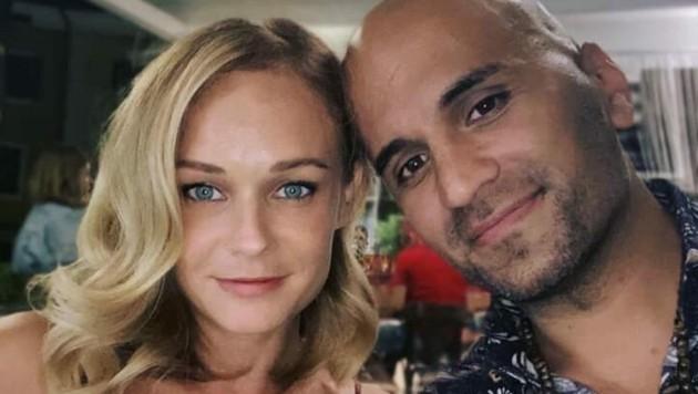 Mit diesem Foto machen Melanie Binder und Eric Papilaya ihre Verlobung bekannt. (Bild: facebook.com/ Eric Papilaya)