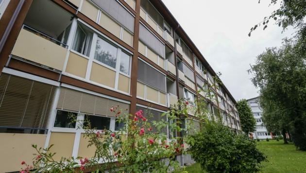 Hier, in diesem Mehrparteienhaus in der Gorianstraße in Salzburg, passierte der Mord (Bild: Tschepp Markus)
