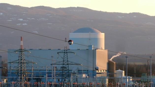 Das Atomkraftwerk Krsko in Slowenien auf einem Archivbild aus dem Jahr 2004 (Bild: APA/EPA/STRINGER)