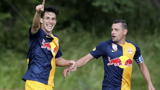 Capaldo und Junuzovic sind derzeit Stammspieler (Bild: Tröster Andreas)