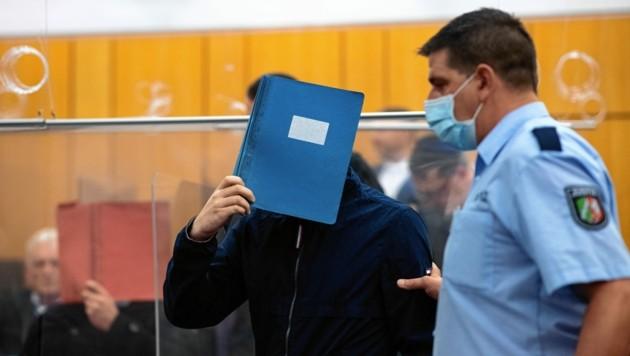 Adrian V. wurde Anfang Juli in Münster wegen Kindesmissbrauchs zu 14 Jahren verurteilt. (Bild: EPA)