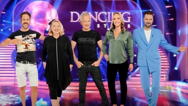 Fünf weitere prominente Tänzer stehen nun fest. (Bild: ORF)