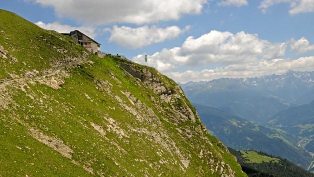 Die Augsburger Hütte (Archivbild). (Bild: Peter Freiberger)