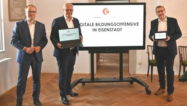 Die Stadt präsentierte nun ihre digitale Bildungsoffensive. (Bild: Stadtgemeinde Eisenstadt)