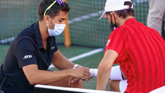 Am 22. Juni verletzte sich Dominic Thiem auf Mallorca am rechten Handgelenk. (Bild: 2021 Quality Sport Images)