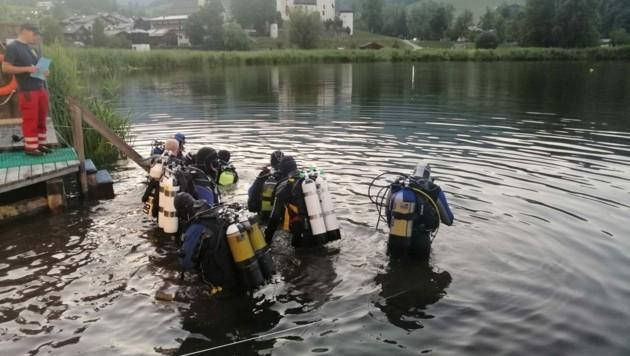 Traurige Gewissheit: Der vermisste Schwimmer ist tot. (Bild: Wasserrettung LV Salzburg)