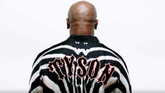 Mike Tyson bewirbt die Herrenkollektion von Roberto Cavalli. (Bild: Roberto Cavalli)