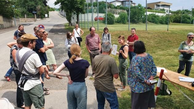 Miteinander wird jetzt Am Steindl nach Lösungen gesucht (Bild: Stadt Krems)