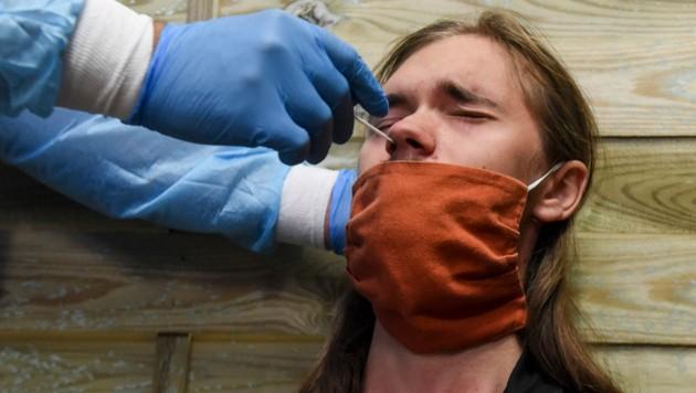 Die Delta-Variante des Coronavirus ist in ganz Europa weiterhin stark auf dem Vormarsch. (Bild: AFP)