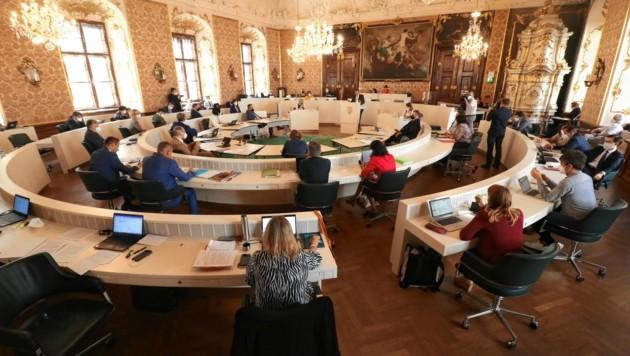Eine Naturgasanlage im südsteirischen Straß wird jetzt Thema im Landtag. (Bild: Christian Jauschowetz)