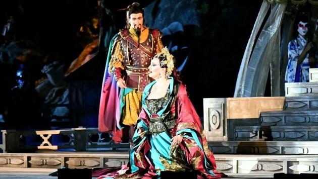 Martina Serafin schlüpft in die Rolle der Turandot. (Bild: Huber Patrick)