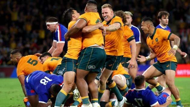 Das australische Rugby-Nationalteam (Bild: AFP)