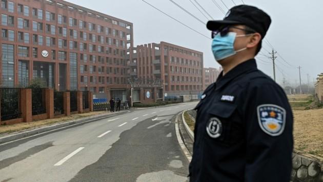 Boykottiert China die Aufklärung zum Ursprung des Coronavirus? Das Land sprach sich gegen eine Kontrolle des Wuhan Institute of Virology aus. (Bild: AFP/Hector RETAMAL)