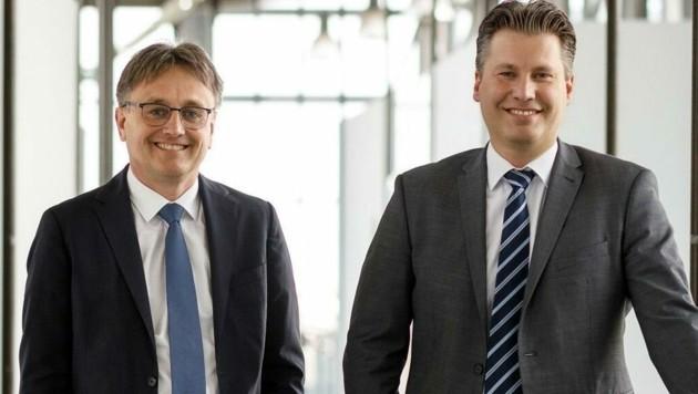 Michael Gerbavsits und Harald Zagiczek (Bild: Wirtschaftsagentur Burgenland GmbH)