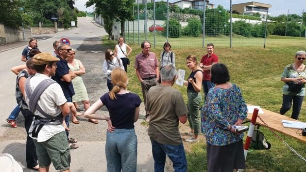 Miteinander wird jetzt Am Steindl nach Lösungen gesucht. (Bild: Stadt Krems)