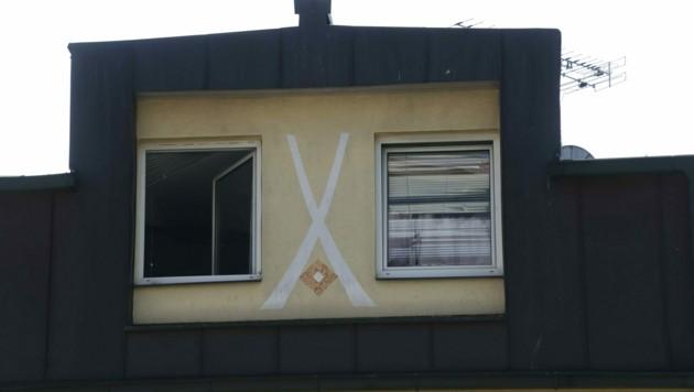 In dieser Wohnung geschah der Mord. (Bild: Jürgen Radspieler)