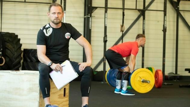 Der Isländer Neo-Cheftrainer Hannes Jon Jonsson hat eine klare Vorstellung, was die Spielweise seiner Mannschaft betrifft. (Bild: Maurice Shourot)