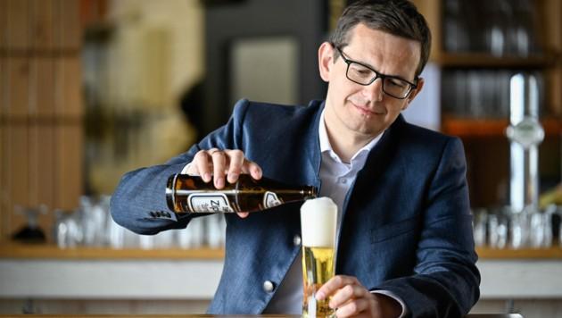 Brau-Union-Chef Klaus Schörghofer (39). (Bild: Alexander Schwarzl)