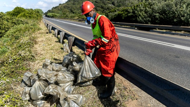Die Bedrohungslage in Durban wird noch eruiert. (Bild: APA/AFP/GUILLEM SARTORIO)