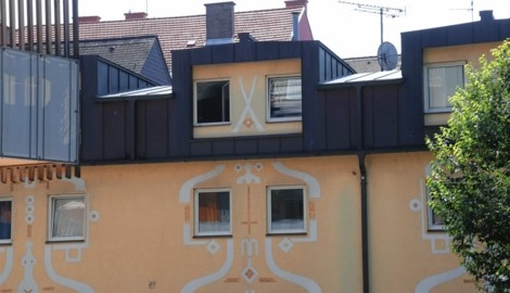 In diesem Haus wurde das Leben des Opfers ausgelöscht. (Bild: Jürgen Radspieler)