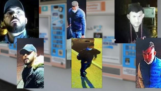 Auf diesem Bild sind die Serieneinbrecher zu sehen. (Bild: Fahndungsbilder Polizei/Jauschowetz)