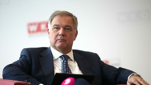 Wiens Wirtschaftskammer-Präsident Walter Ruck (Bild: Bartel Gerhard)