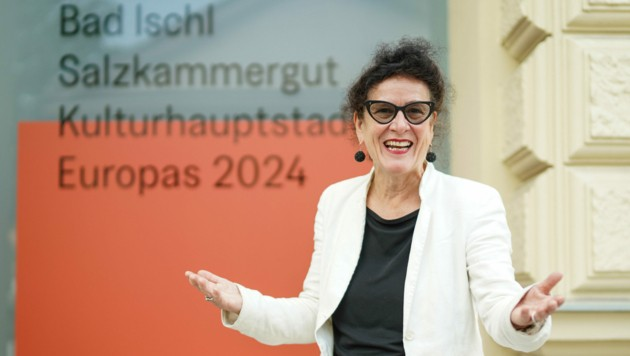 Elisabeth Schweeger geht auf Kurs. Sie ist seit Freitag die neue Steuerfrau der Kulturhauptstadt Bad Ischl mit dem Salzkammergut, die in zwei Jahren stattfindet. Die Zeit ist knapp. (Bild: Markus Wenzel)