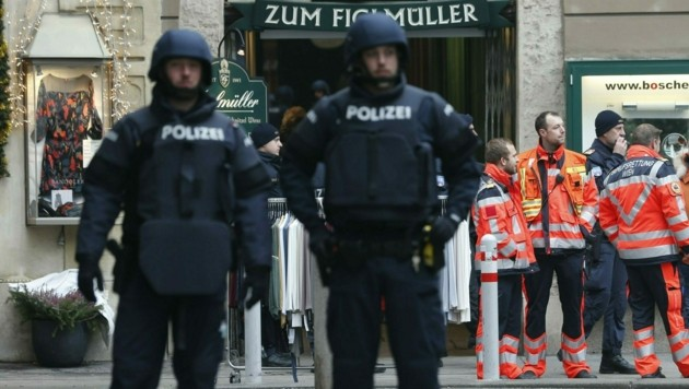Mafia-Hinrichtung mitten in der Wiener City 2018 (Bild: Reinhard Holl)