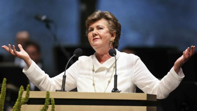 Festspielpräsidentin Helga Rabl-Stadler (Bild: Land Salzburg/Leopold Neumayr)