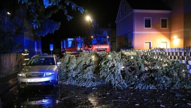 Gewitterschäden in Knittelfeld (Bild: Thomas Zeiler)